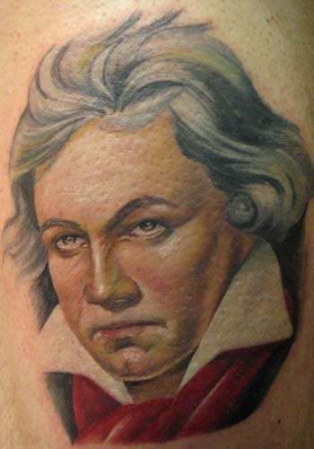 Tattoos - Alex De Pase - Beethoven - 29174