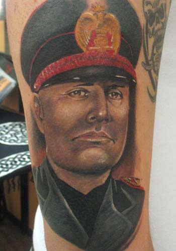 Tattoos - Alex De Pase - Mussolini - 29175