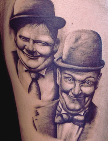 Tattoos - Laurel and Hardy - 21719