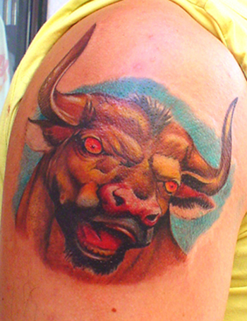 Tattoos - Il Toro - 21718