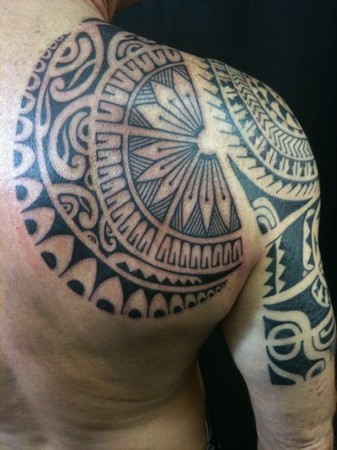 Tatto Polynesian on Tattoos   Alex Nardini   Page 5   Modern Polynesian 2 Back