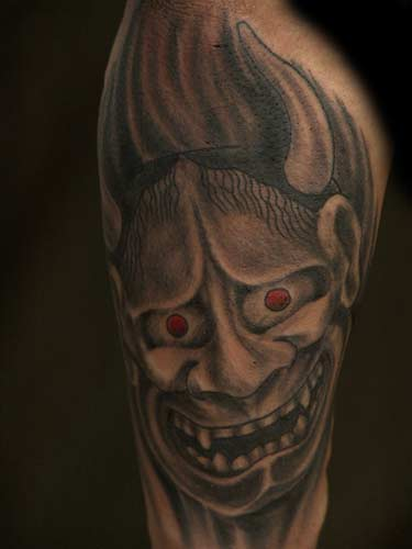 Tattoos - Blackwork tattoos - hannya. click to view large image middot; email this page to a friend. im really enjoying blackwork lately,