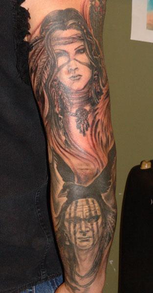 Tattoos - native american - 32193