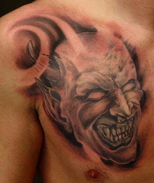 ... tattoos tattoo designs for men angel skull candy tattoos full back