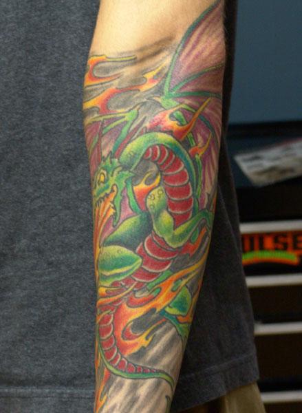 Tattoos - dragon  - 32187
