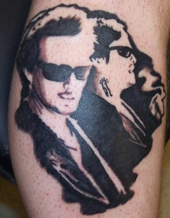 The saints by jeff raiano tattoonow for Boondock saints hand tattoos