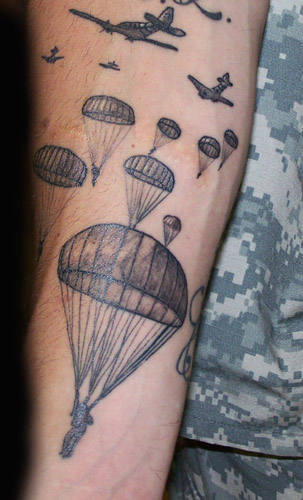 Army Paratrooper Tattoos