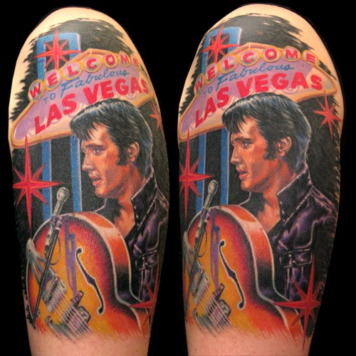 Tattoos - Elvis Tattoo - 49843