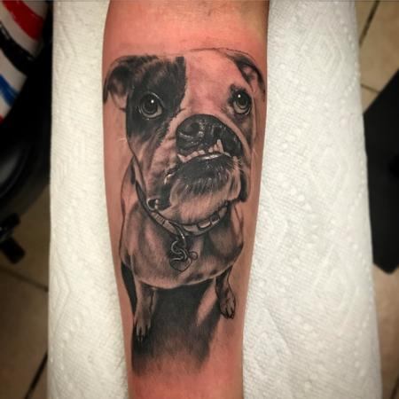 Tattoos - Dog portrait  - 125800