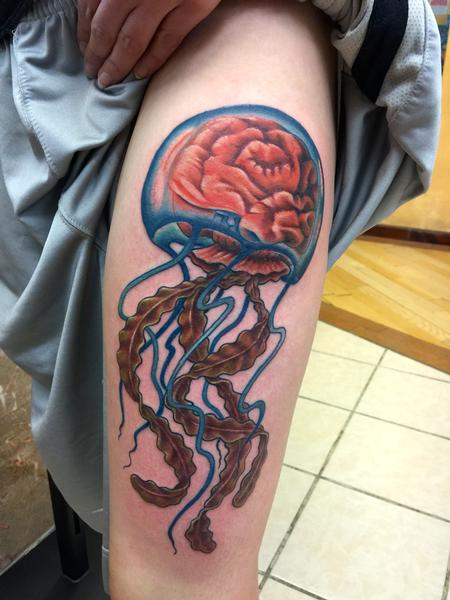 Tattoos - Jellyfish brain - 109107