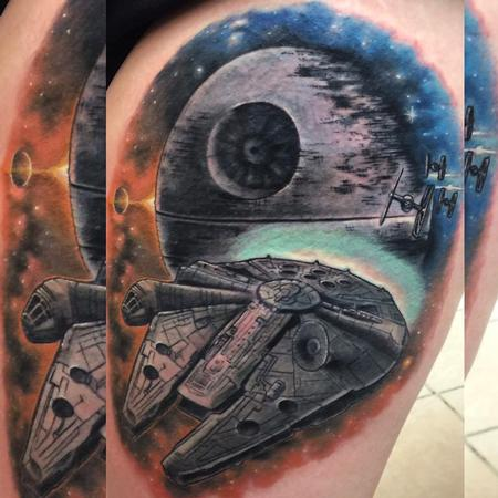 Tattoos - Millenium Falcon - 117068
