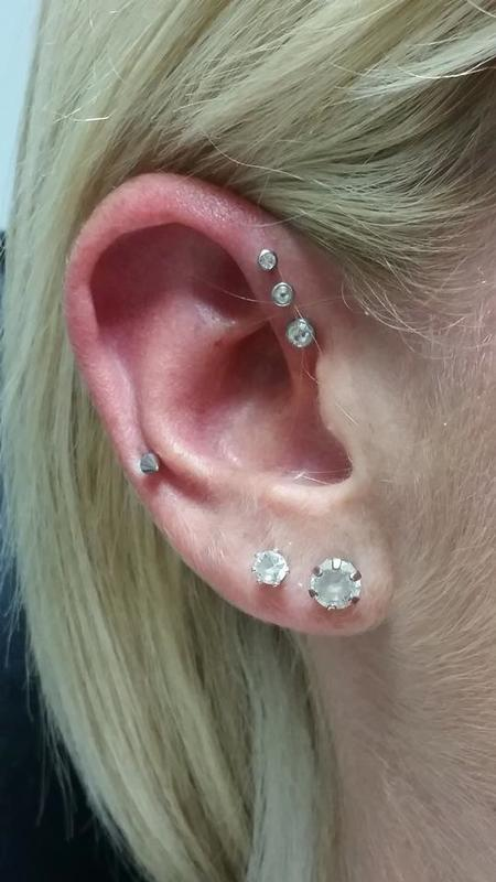 Amber Dunigan - Ear piercing