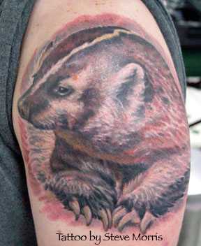 Tattoos - Badger - 16683