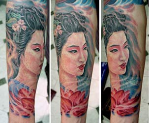 Tattoos - Geisha - 14936