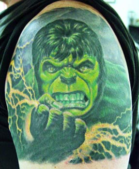 Tattoos - The Hulk - 14938