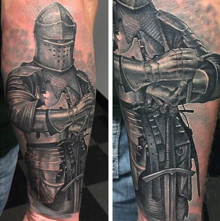 Tattoos - Knight - 106565