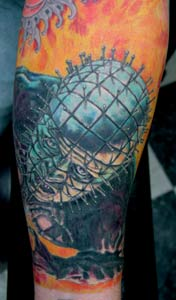 Tattoos - Pinhead Tattoo - 14642