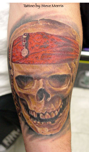 Tattoos - Pirate - 16687