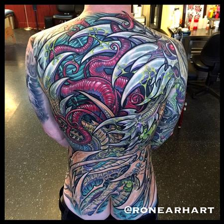Ron Earhart - Red Bio Organic Tattoo