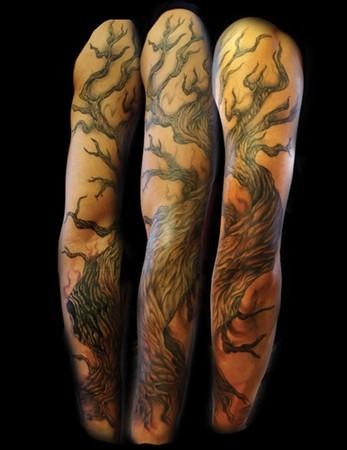 Tattoos - Tree - 47013