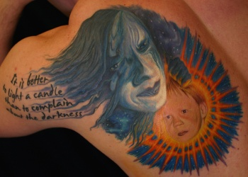 Tattoos > Petri Syrjälä > Page 1 > Inner Child