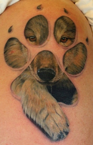 Tattoos by Keyword : Skin Rips tattoos , Realistic tattoos , Custom