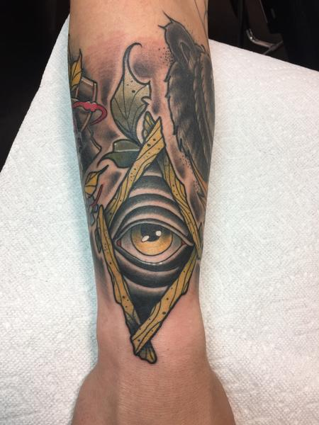 Tattoos - Alley seeing eye thingy - 132748