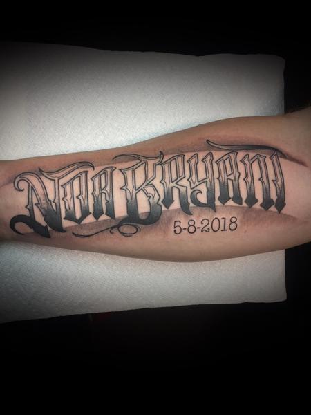 Tattoos - Lettering - 133662