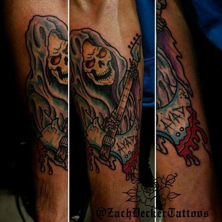 Tattoos - Heavy Metal Reaper - 128170