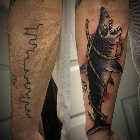 Shark cover up Design Thumbnail