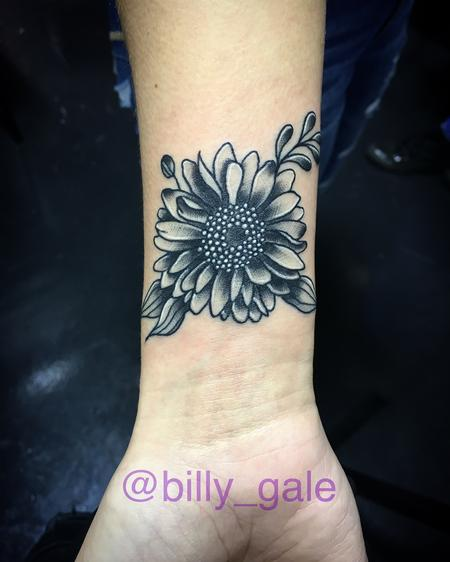 Tattoos - Sunflower jawn  - 131474