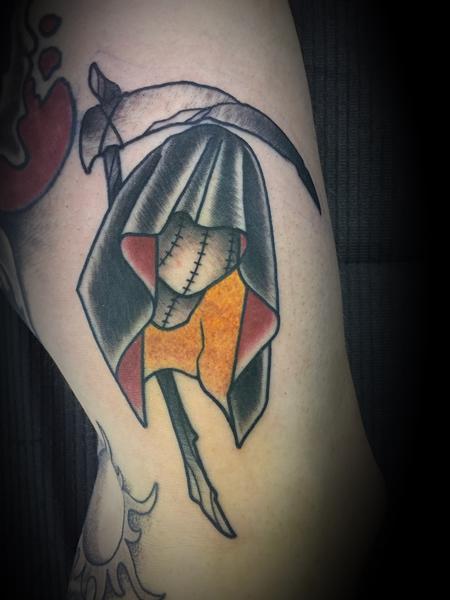 Tattoos - Faceless reaper - 133006