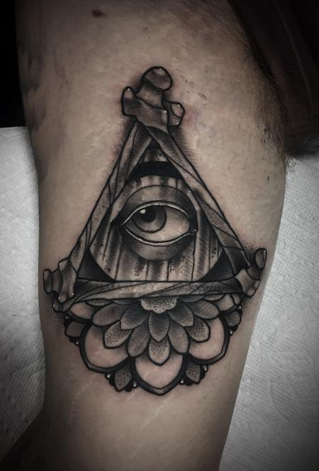 All seeing eye thing Design Thumbnail