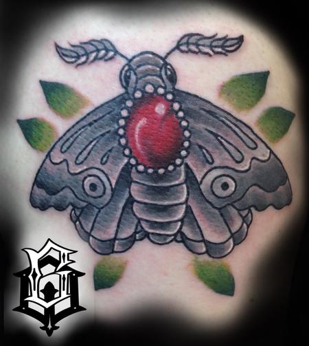 Tattoos - Moth - 129509