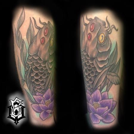 Brandon Over - Koi fish