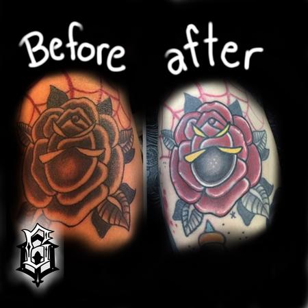 Tattoos - Rose rework - 129513