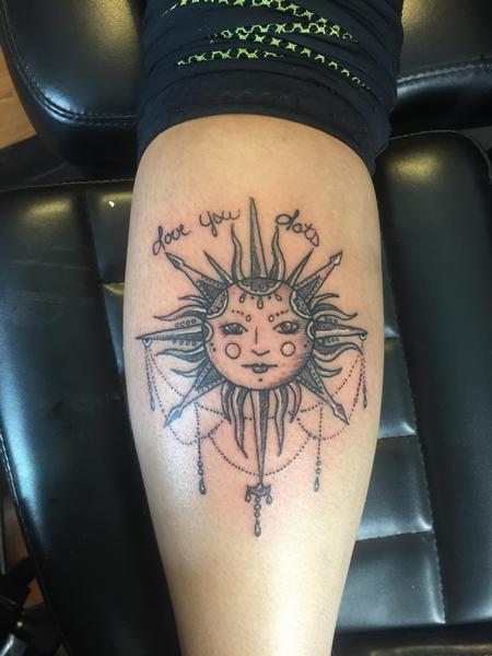 Tattoos - Sun - 124975