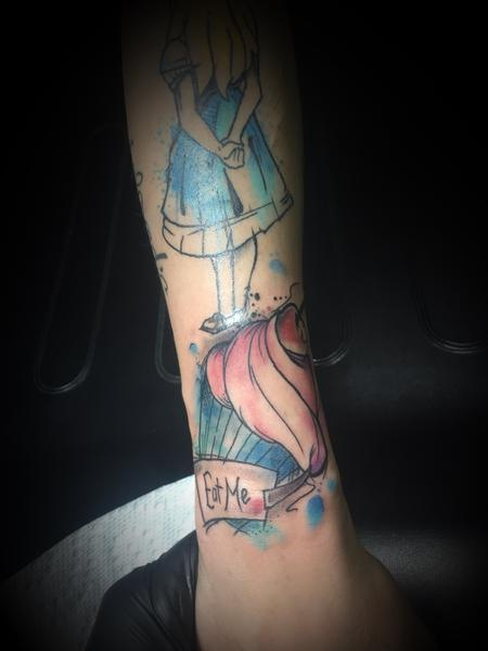 Tattoos - Cupcake - 127397