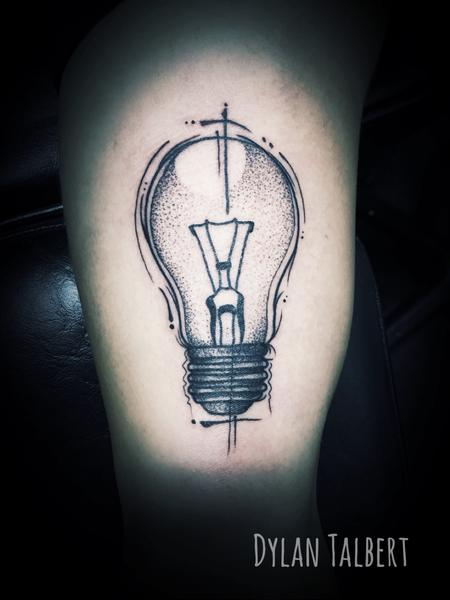 Tattoos - Light bulb - 130405