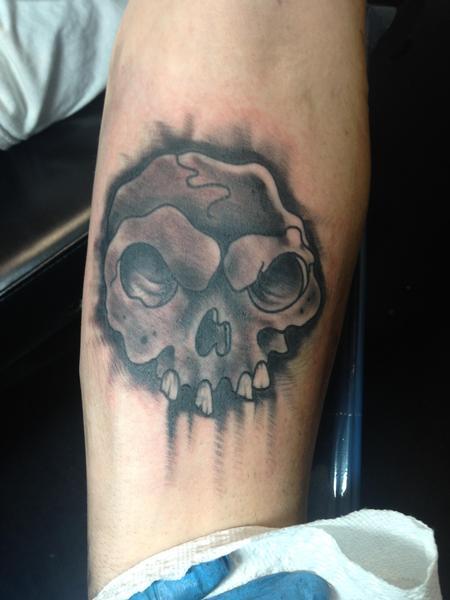 Tattoos - Skull  - 125100