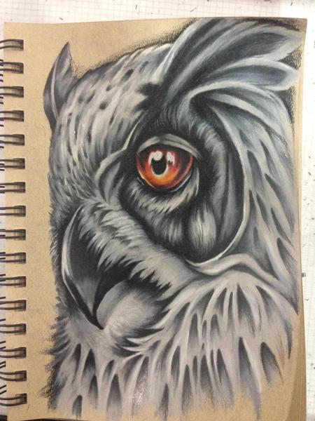 Tattoos - Owl wannado - 125172