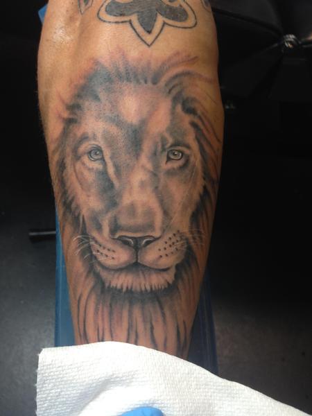 Tattoos - Lion - 125547