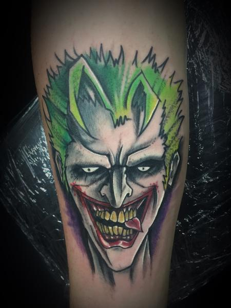 Tattoos - Joker - 127402