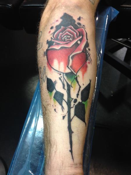 Tattoos - Rose - 125593