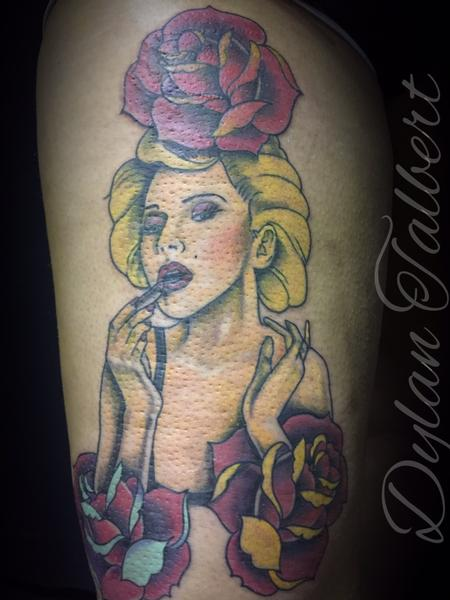 Tattoos - Marilyn  - 128336
