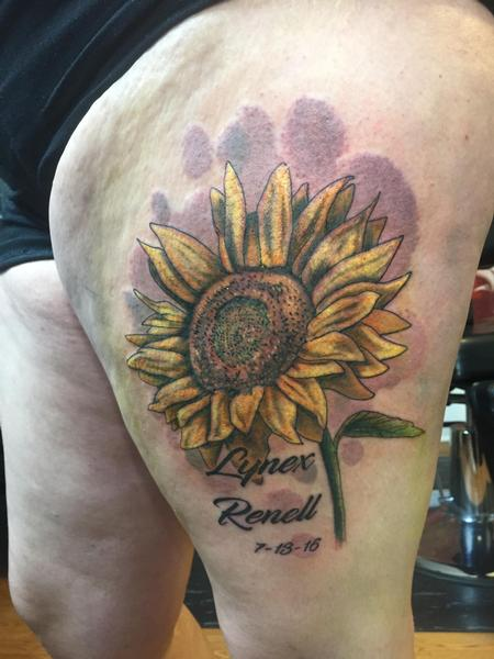 Tattoos - Sunflower - 126657