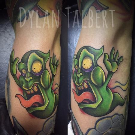 Tattoos - Slimer  ghost - 128727