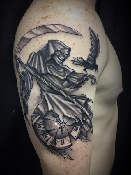 Tattoos - Grim reaper - 131752