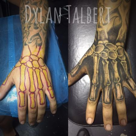Bone hand Design Thumbnail