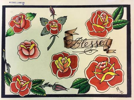 Tattoos - Roses, roses and more roses - 125834